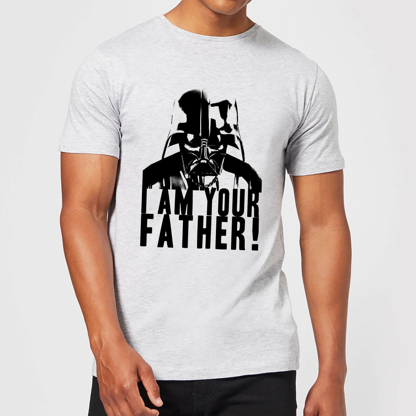 Star Wars T-Shirt Star Wars Homme Dark Vador Confession Je Suis Ton Père - Gris - XL - Gris