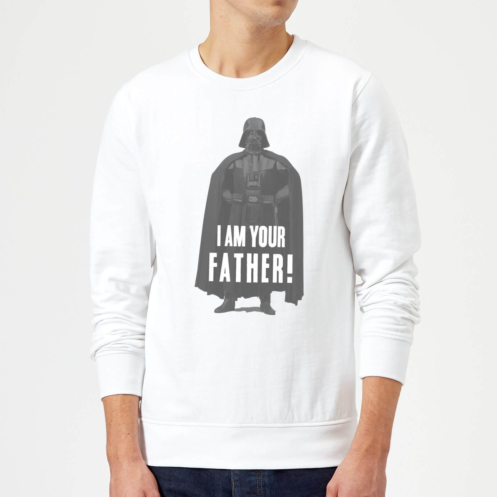 Star Wars Sweat Homme Dark Vador Je Suis Ton Père Pose - Star Wars - Blanc - XL - Blanc