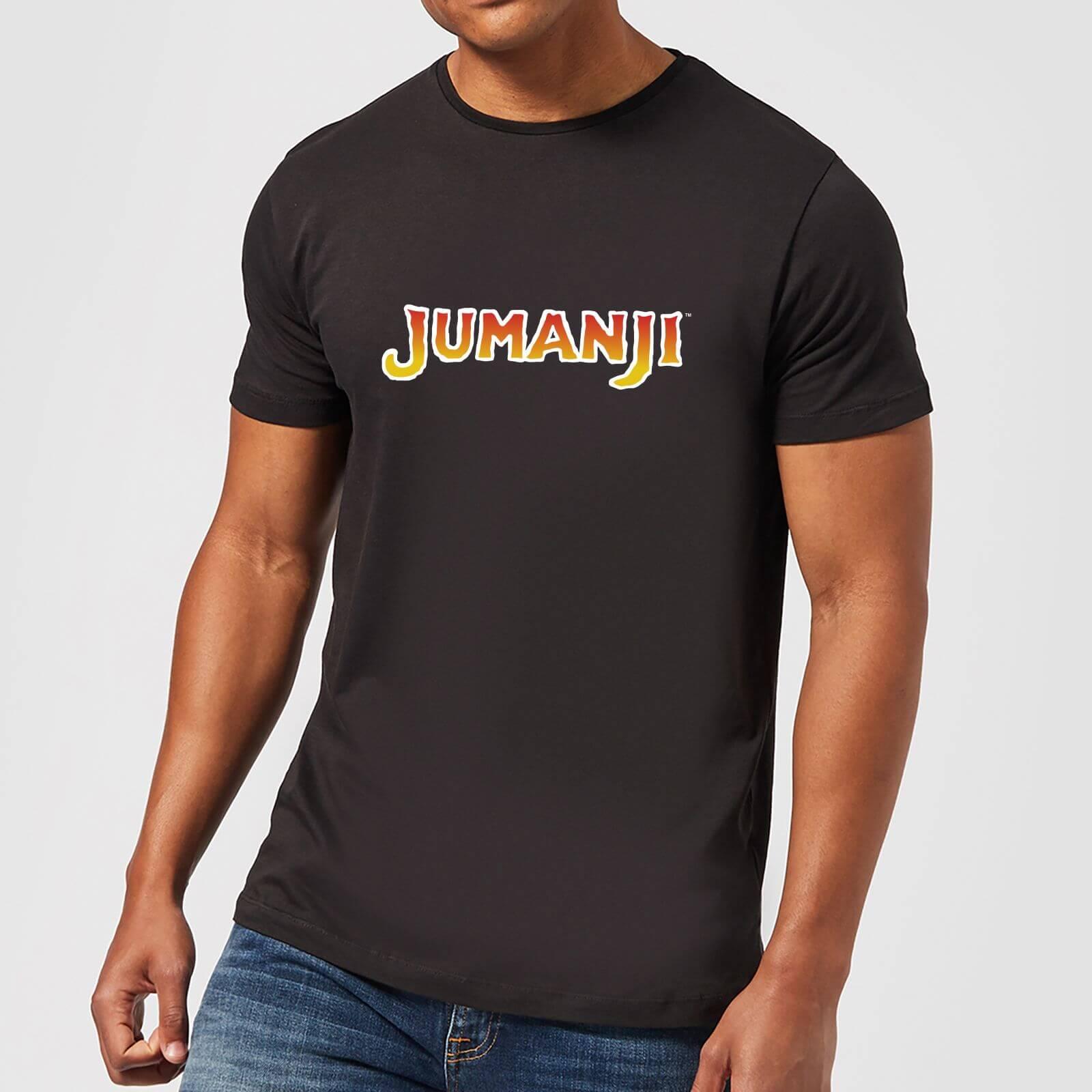 Jumanji T-Shirt Homme Logo Jumanji - Noir - XL - Noir