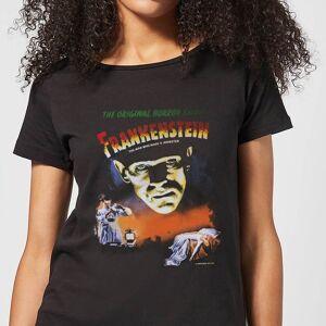 Universal Monsters T-Shirt Femme Frankenstein Affiche Rétro - Universal Monsters - Noir - XXL - Noir - Publicité