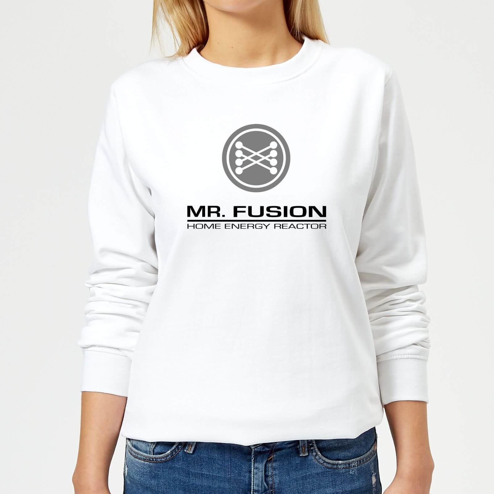 Back to the Future Sweat Femme Retour vers le Futur - Mr Fusion - Blanc - XL - Blanc