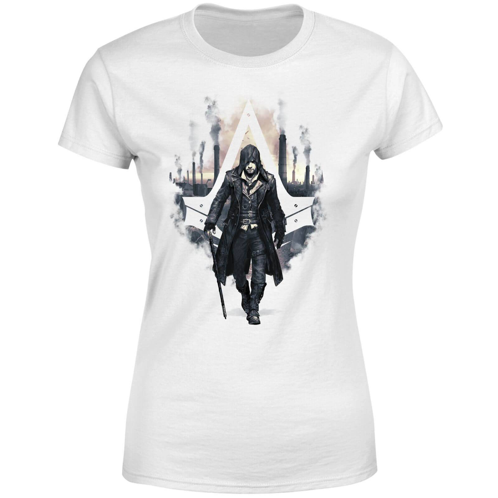 Assassin's Creed T-Shirt Femme London Skyline Assassin's Creed Syndicate - Blanc - S - Blanc