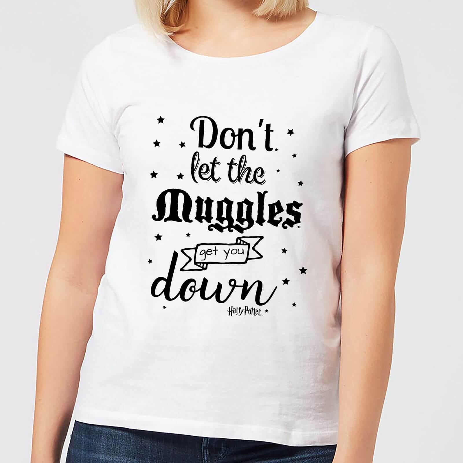 Harry Potter T-Shirt Femme Ne te Laisse pas Faire par les Modus - Harry Potter - Blanc - XXL - Blanc