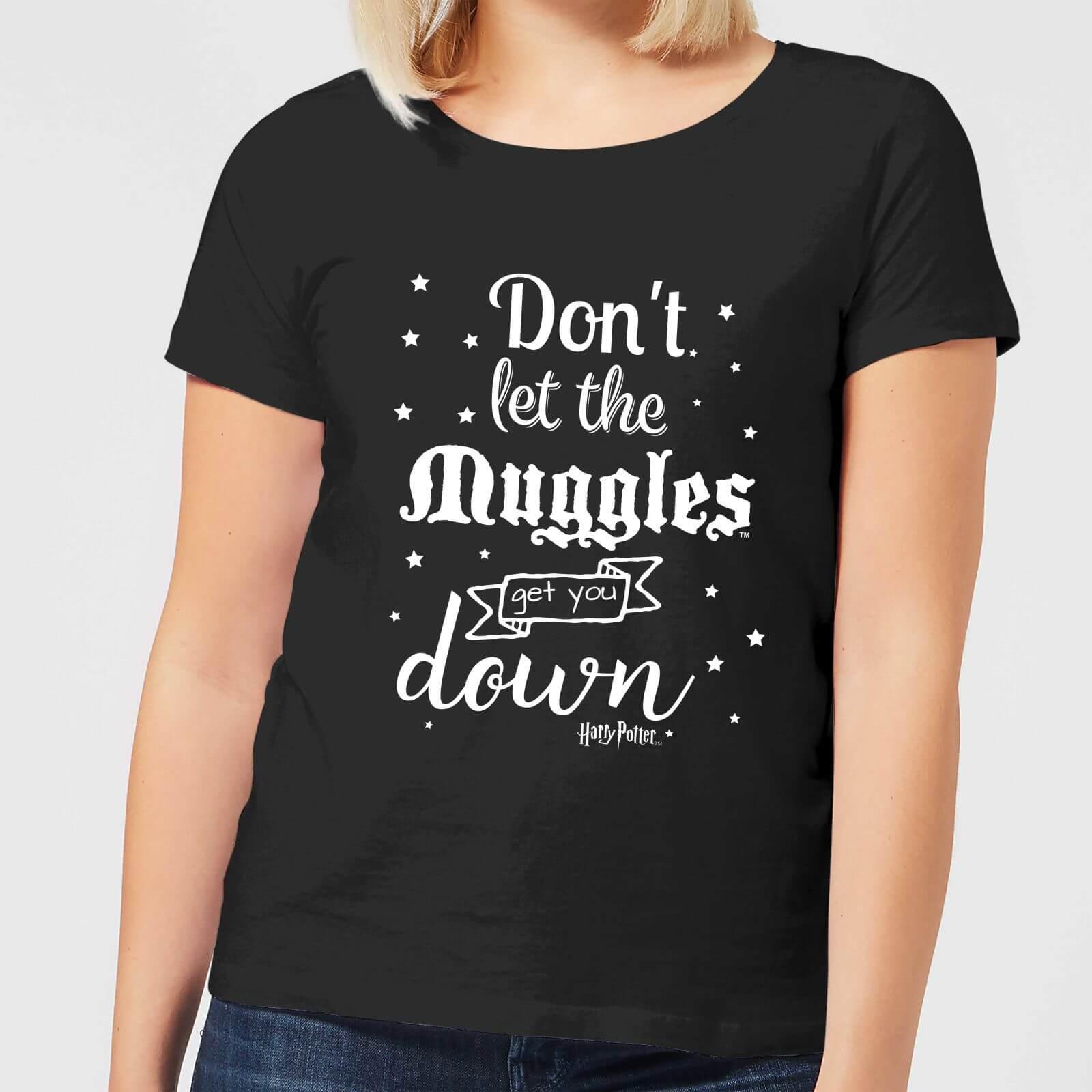 Harry Potter T-Shirt Femme Ne te Laisse pas Faire par les Modus - Harry Potter - Noir - L - Noir