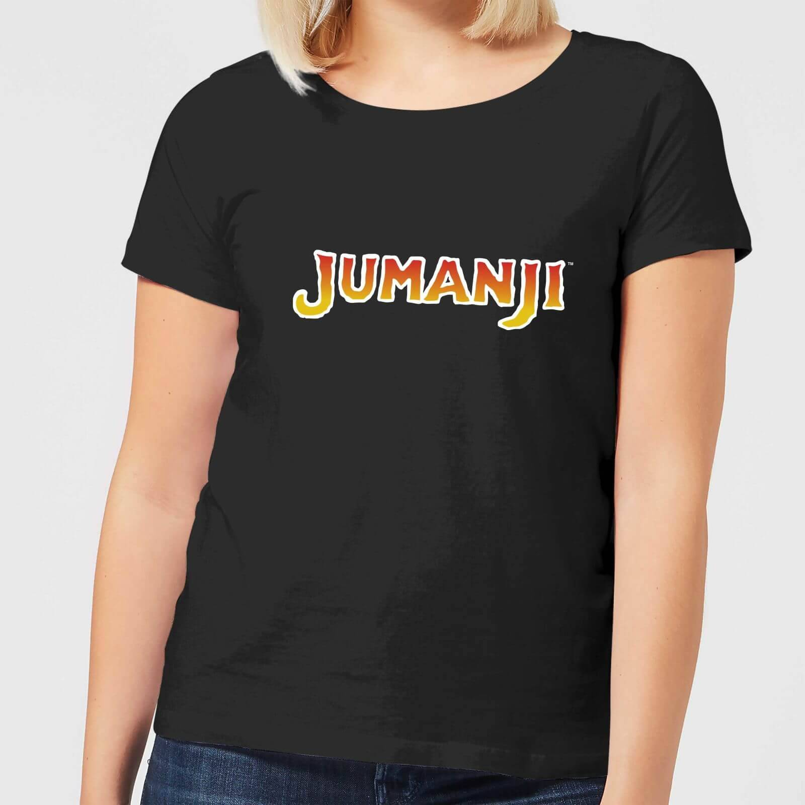 Jumanji T-Shirt Femme Logo Jumanji - Noir - S - Noir