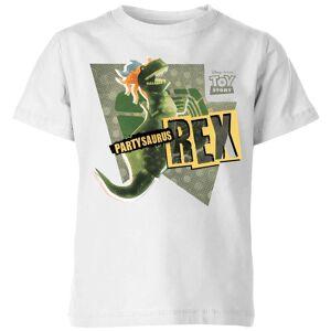 Pixar T-Shirt Enfant Partysaurus Rex Toy Story - Blanc - 3-4 ans - Blanc - Publicité