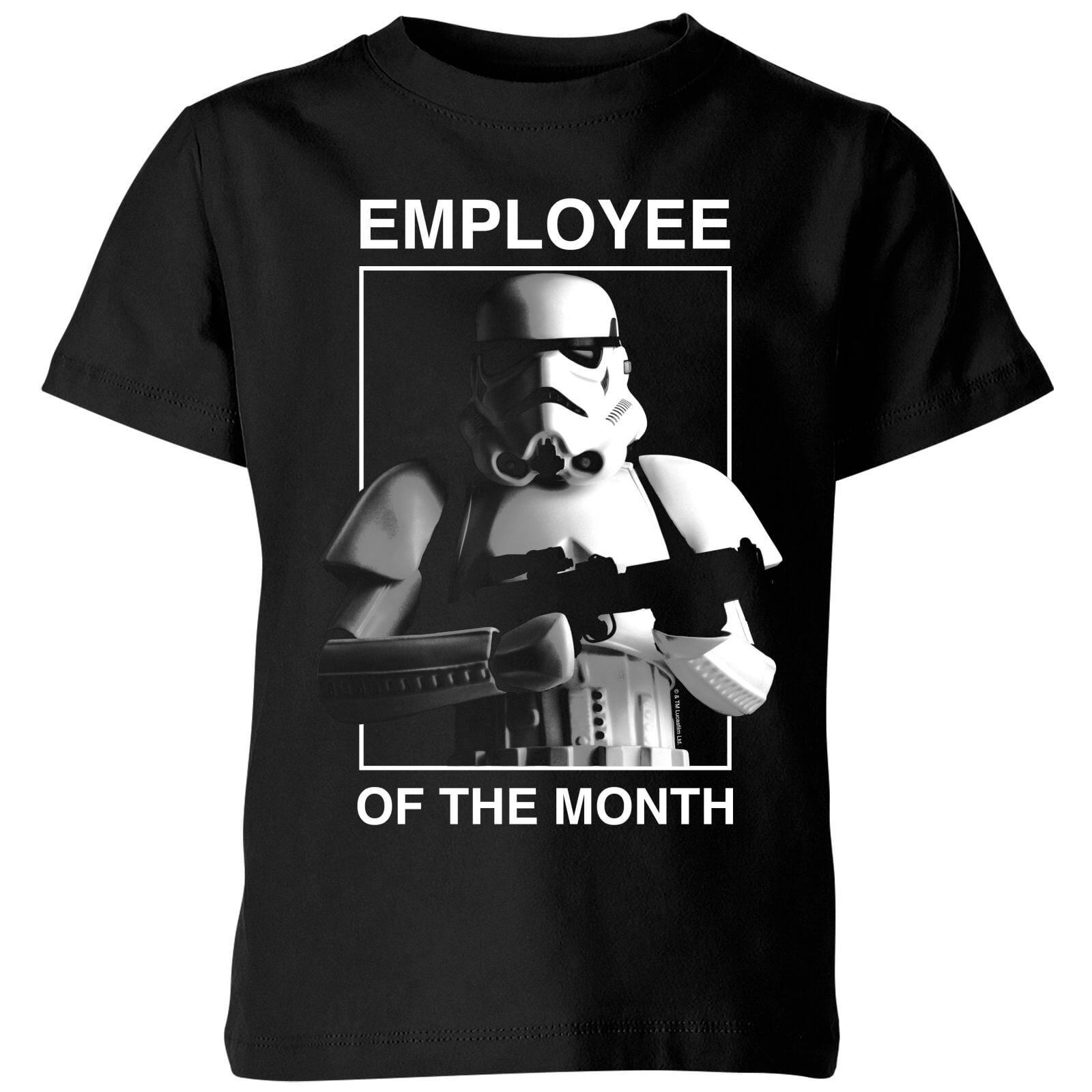 Star Wars T-Shirt Enfant Employé du Mois Star Wars Classic - Noir - 5-6 ans - Noir