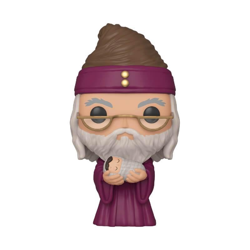 Pop! Vinyl Figurine Pop! Dumbledore Avec Bébé Harry - Harry Potter