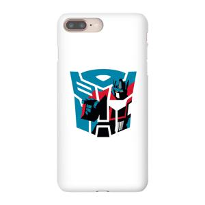 Transformers Coque Smartphone Autobot Icon - Transformers pour iPhone et Android - iPhone 8 - Coque Simple Matte - Publicité