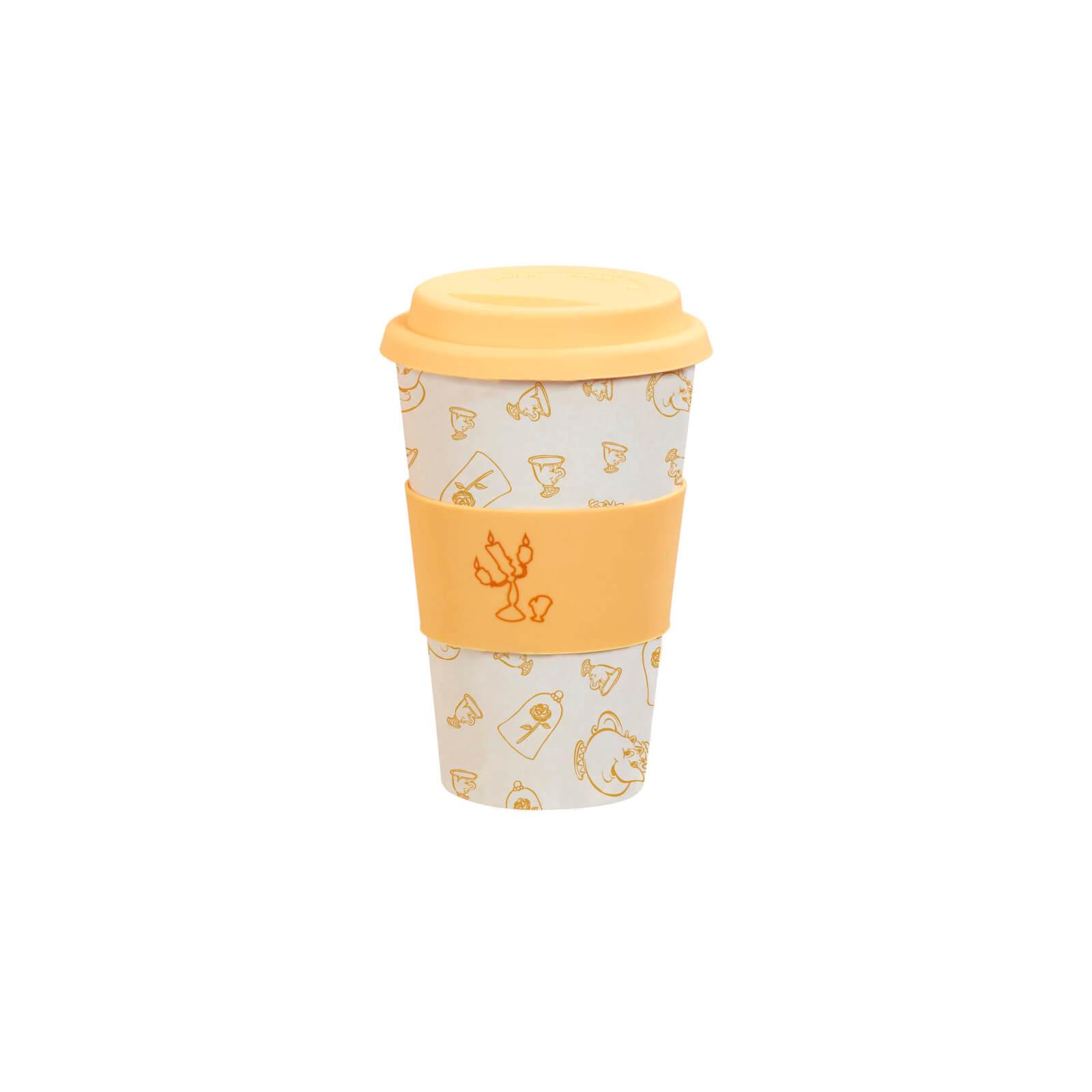Funko Homeware Disney Mug de Voyage La Belle et La Bête En Bambou