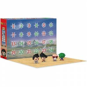 Funko Dragon Ball Z Pop ! Calendrier de l'Avent - Publicité