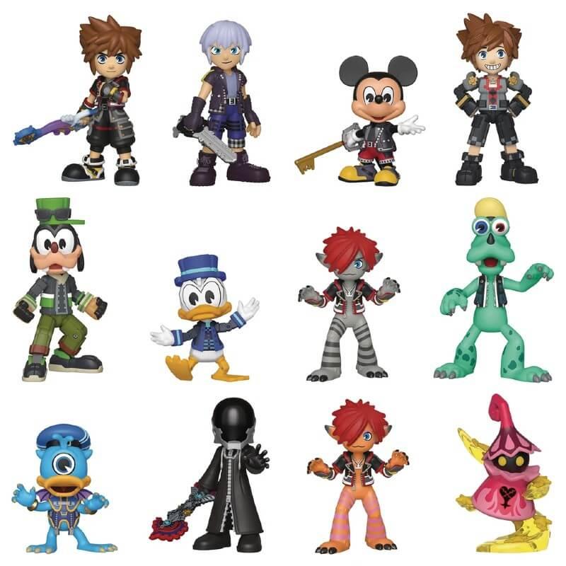 Figurine Mystery Mini Kingdom Hearts 3 x1