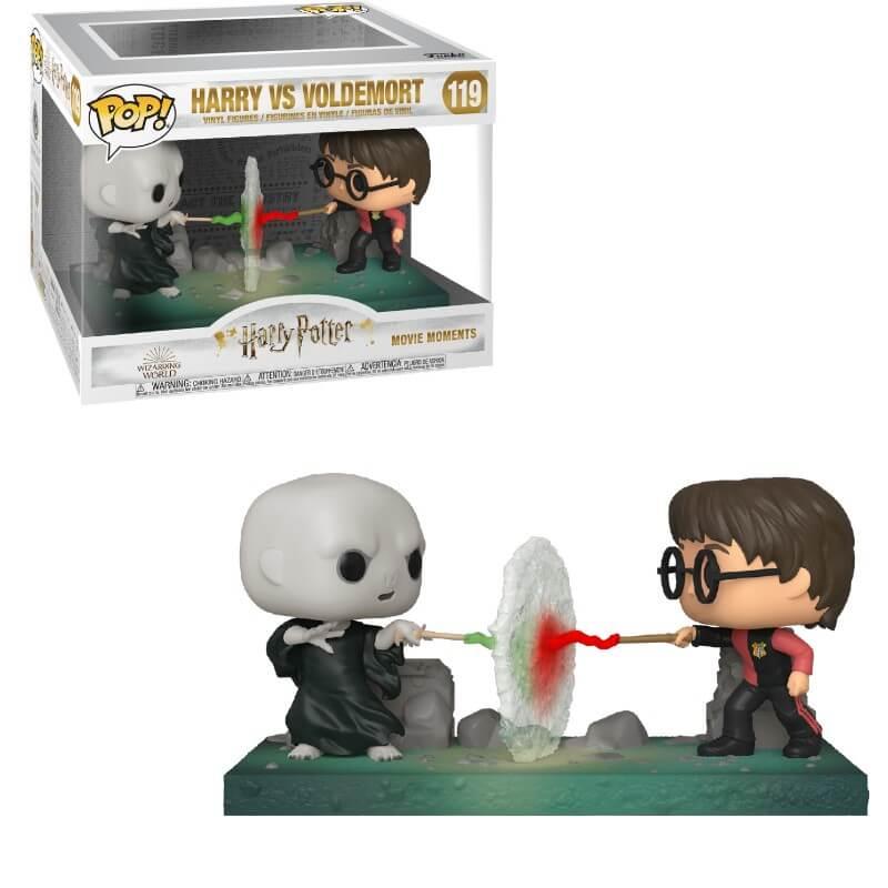Funko Pop! Vinyl Figurine Pop! Movie Moment Harry vs. Voldemort - Harry Potter