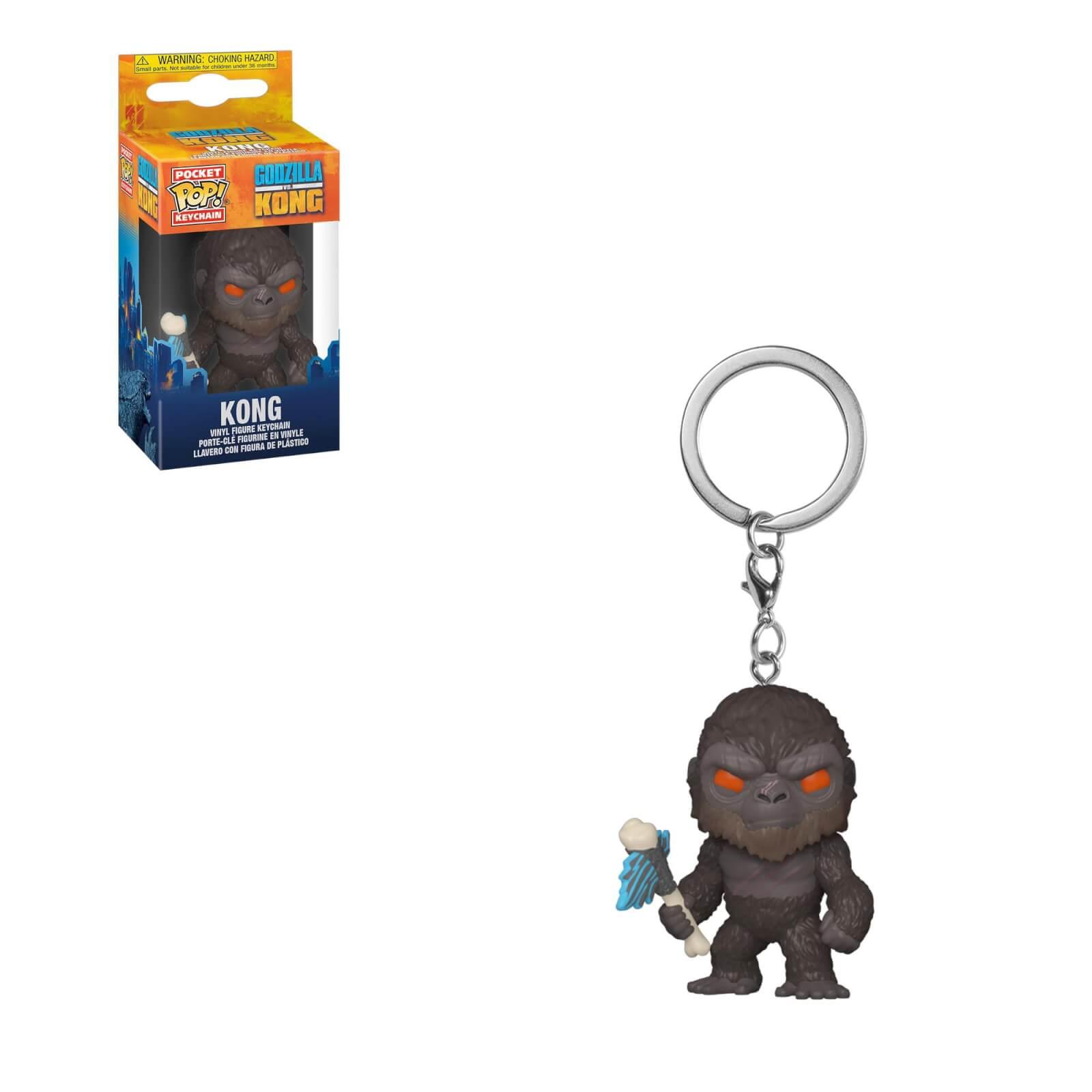 Godzilla contre Kong POP 3 Pop ! Porte-clés