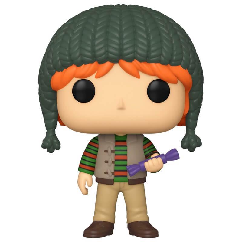 Funko Pop! Figurine Pop! Ron Weasley Noël - Harry Potter