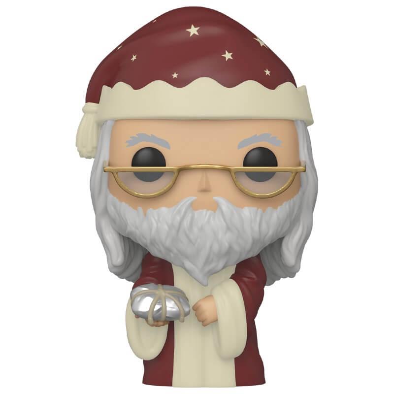 Pop! Vinyl Figurine Pop! Dumbledore Noël - Harry Potter