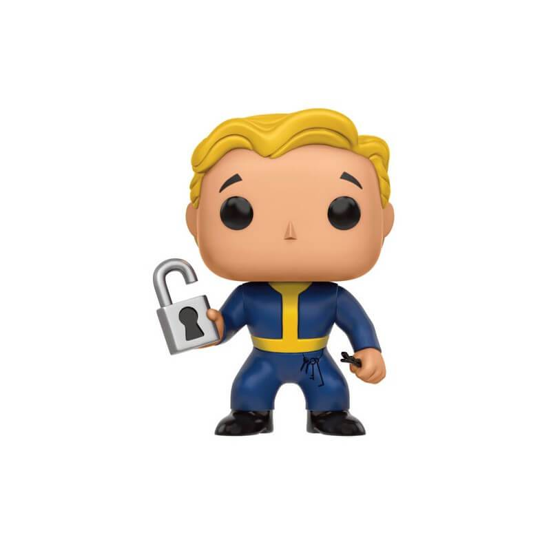 Pop! Vinyl Figurine Boy Locksmith Fallout Vault Funko Pop!