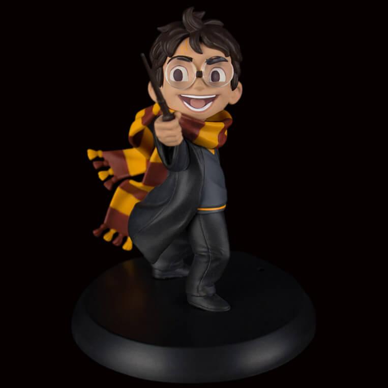 Quantum Mechanix Figurine Le Premier Sort de Harry Potter Q-Fig
