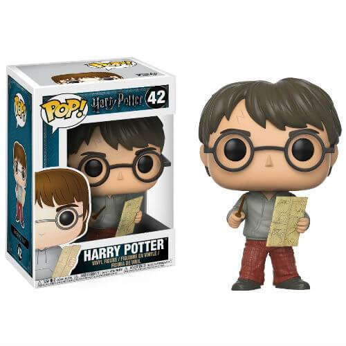 Pop! Vinyl Figurine Pop! Harry avec Carte du Maraudeur Harry Potter
