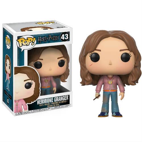 Pop! Vinyl Figurine Pop! Hermione avec Retourneur de Temps Harry Potter