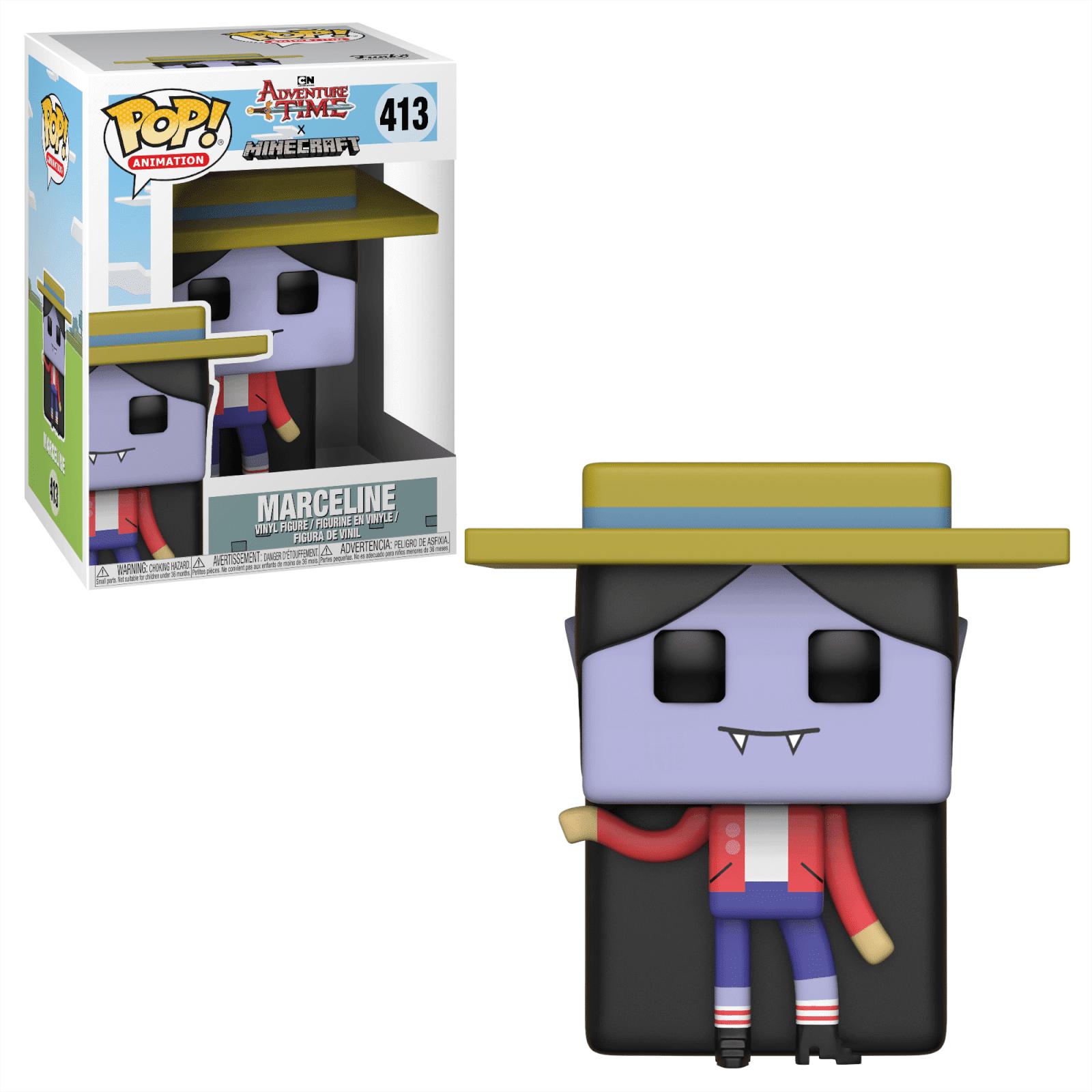 Pop! Vinyl Figurine Pop! Princesse Bonnibel Chewing-Gum - Adventure Time x Minecraft