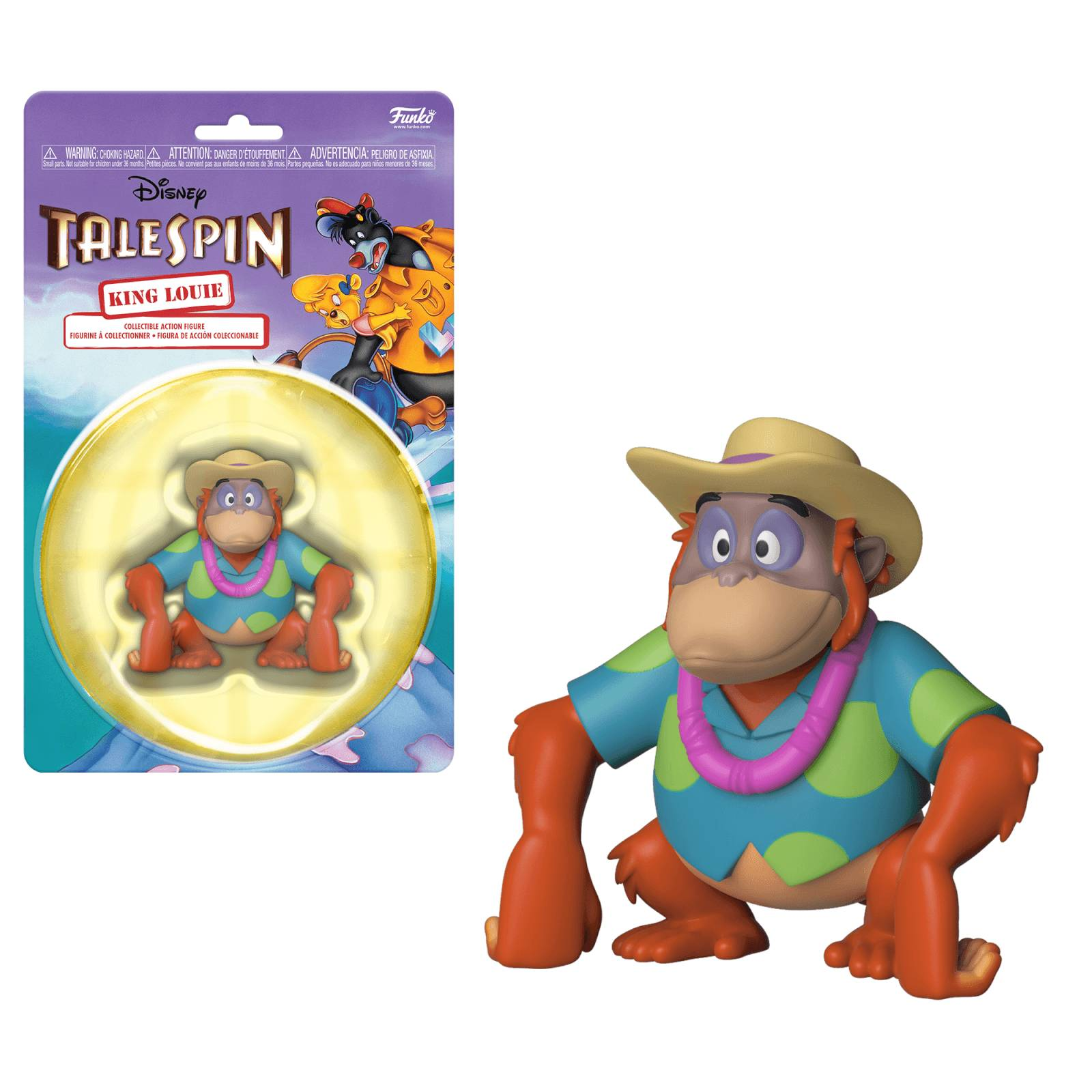 Action Figure Figurine Funko - King Louie - Disney Afternoon