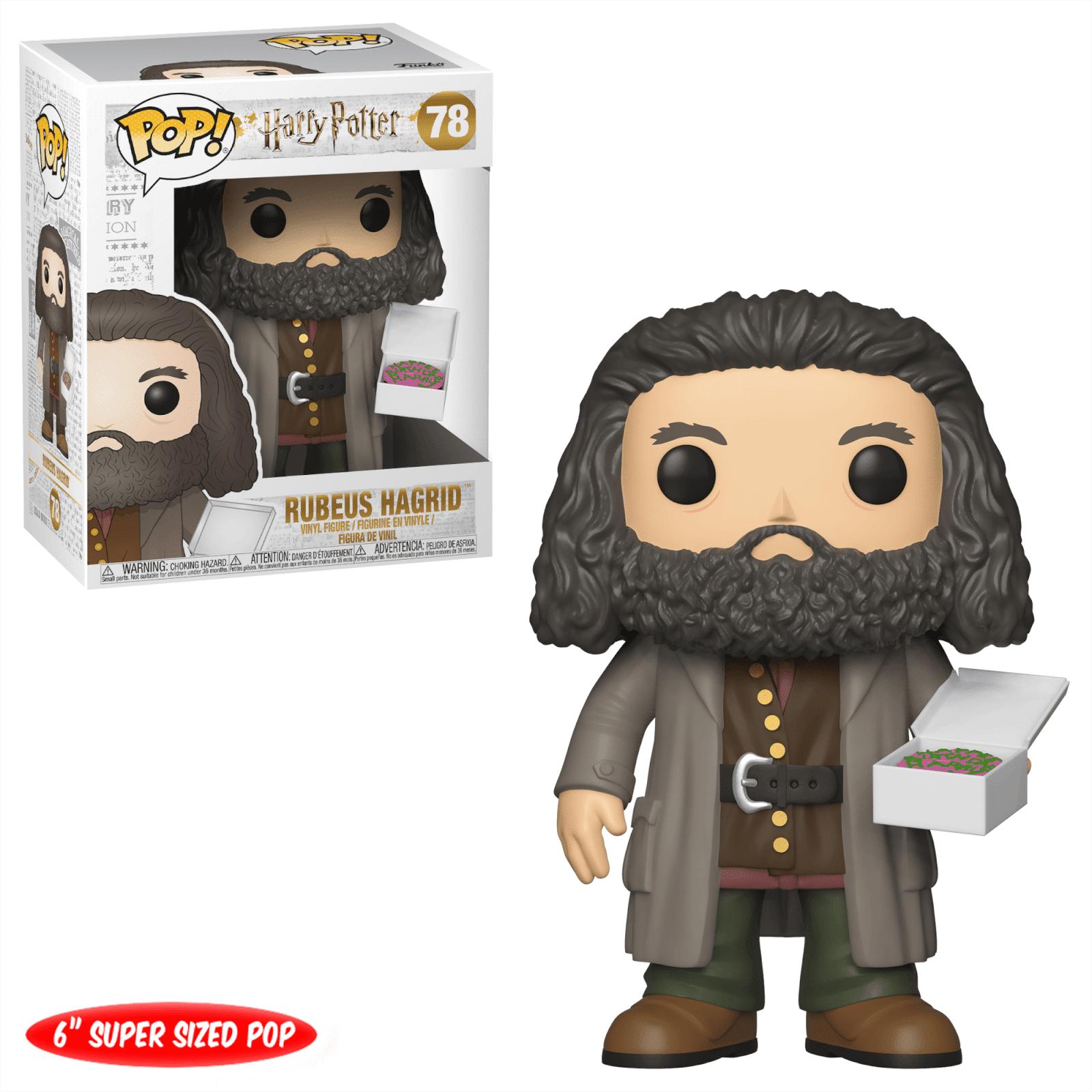 Pop! Vinyl Figurine Pop! Hagrid avec Gateau - 15 cm - Harry Potter