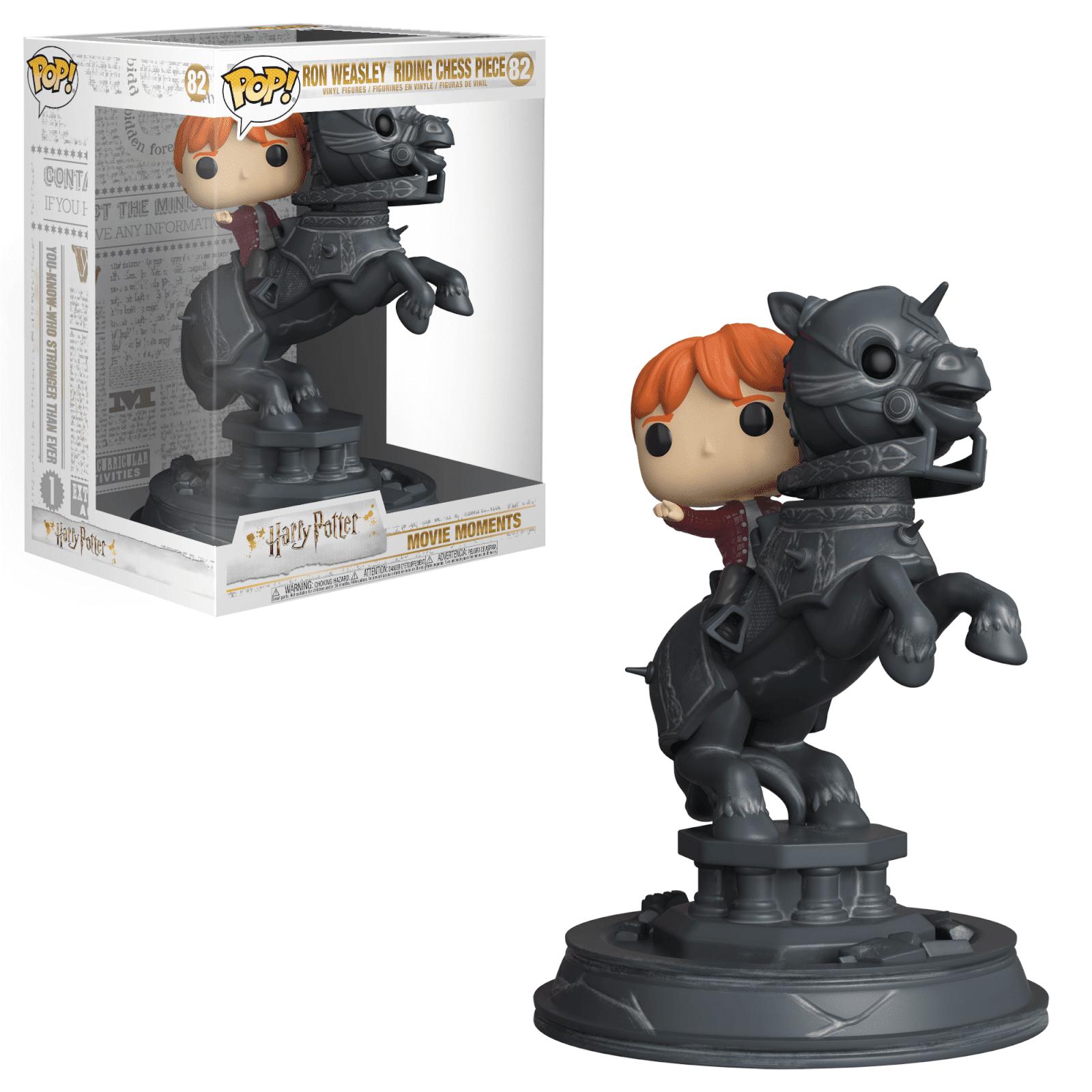 Pop! Vinyl Figurine Pop! Movie Moment - Ron Weasley sur Pièce D'Échec Harry Potter