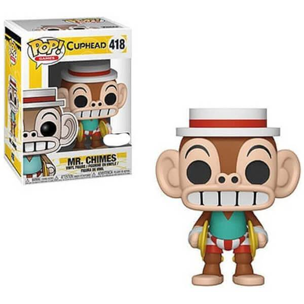 Pop! Vinyl Figurine Pop! Cuphead Mr Chimes EXC