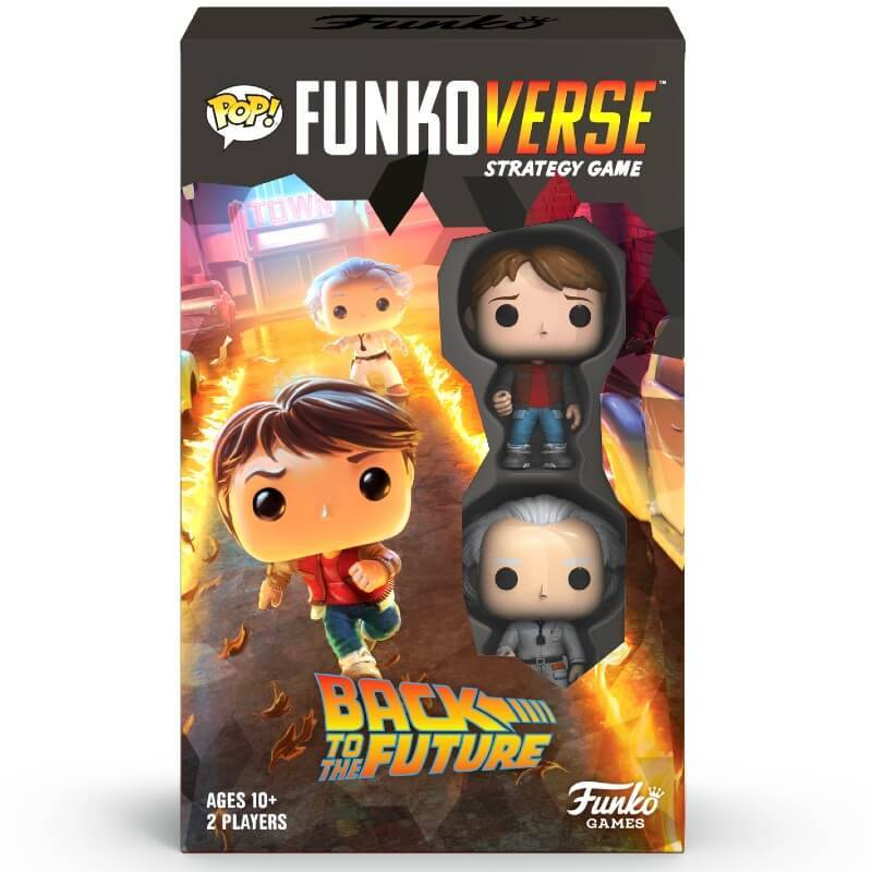 Funkoverse Jeu Funkoverse Retour Vers Le Futur - Version Anglaise