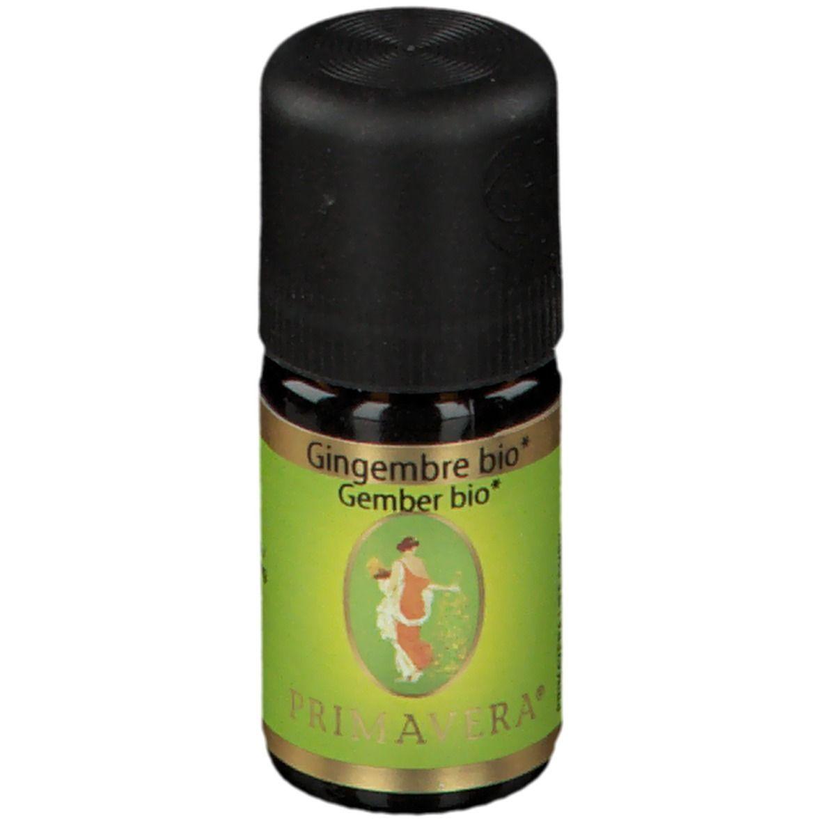 PRIMAVERA® Gingembre Bio ml huile
