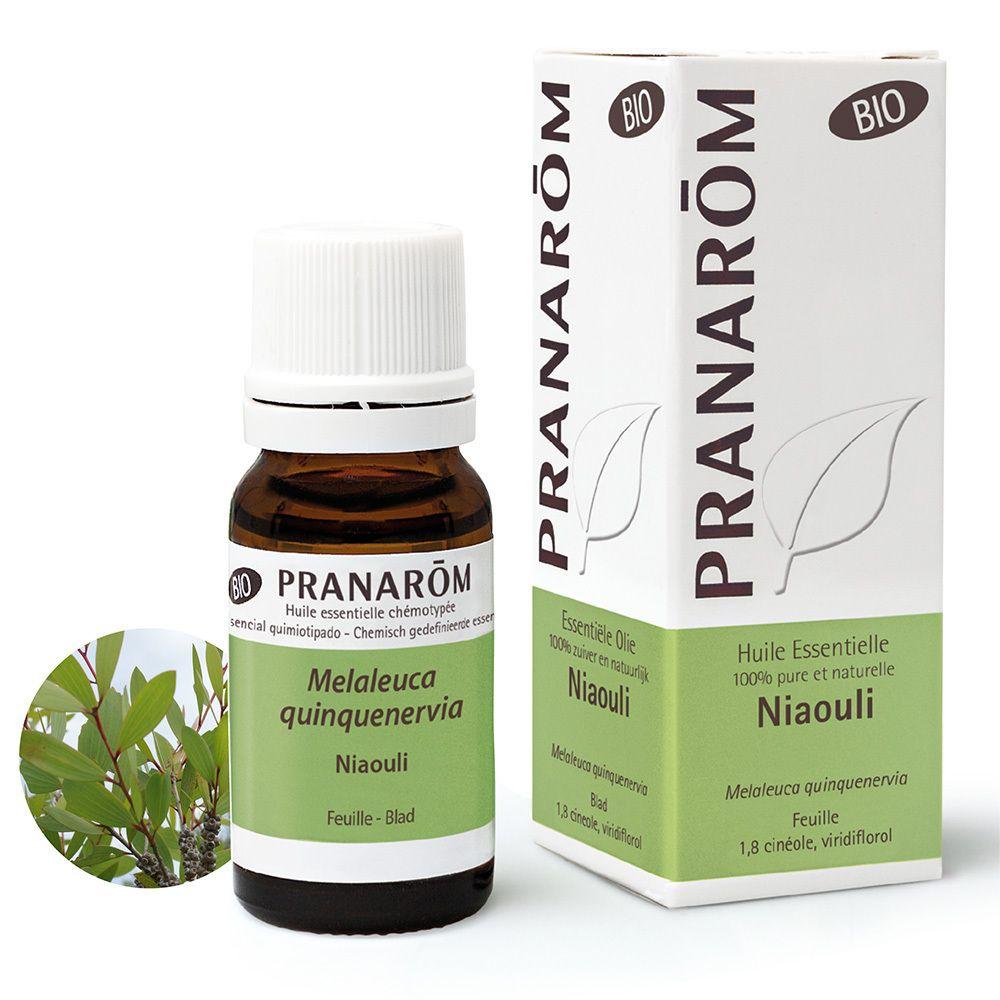 Pranarôm Huile Essentielle de Feuilles de Niaouli Bio ml huile