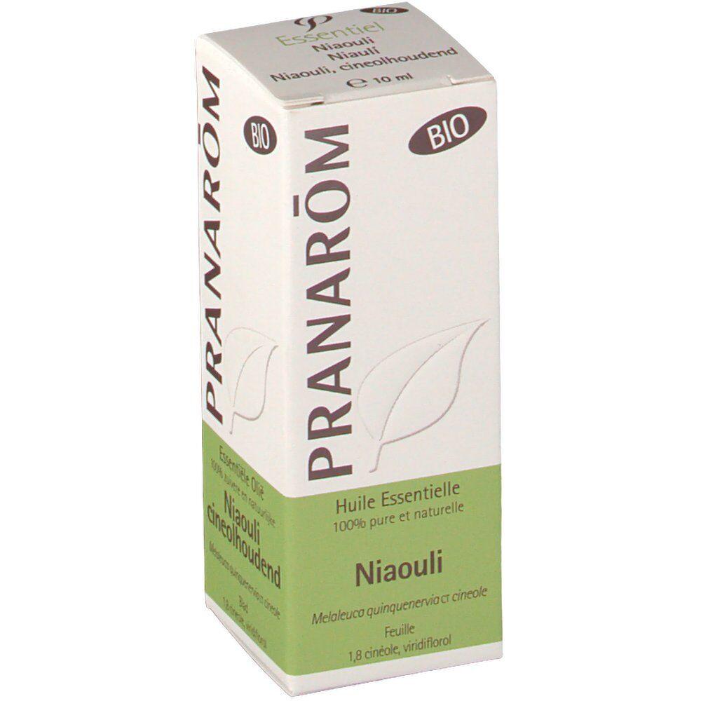 Pranarôm Pranarom huile essentielle de feuilles niaouli bio 10 ml 5420008524417