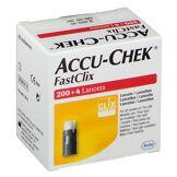 Roche Diabetes Care Accu-Chek® Fastclix Lancettes 204 pc(s) 4015630057009