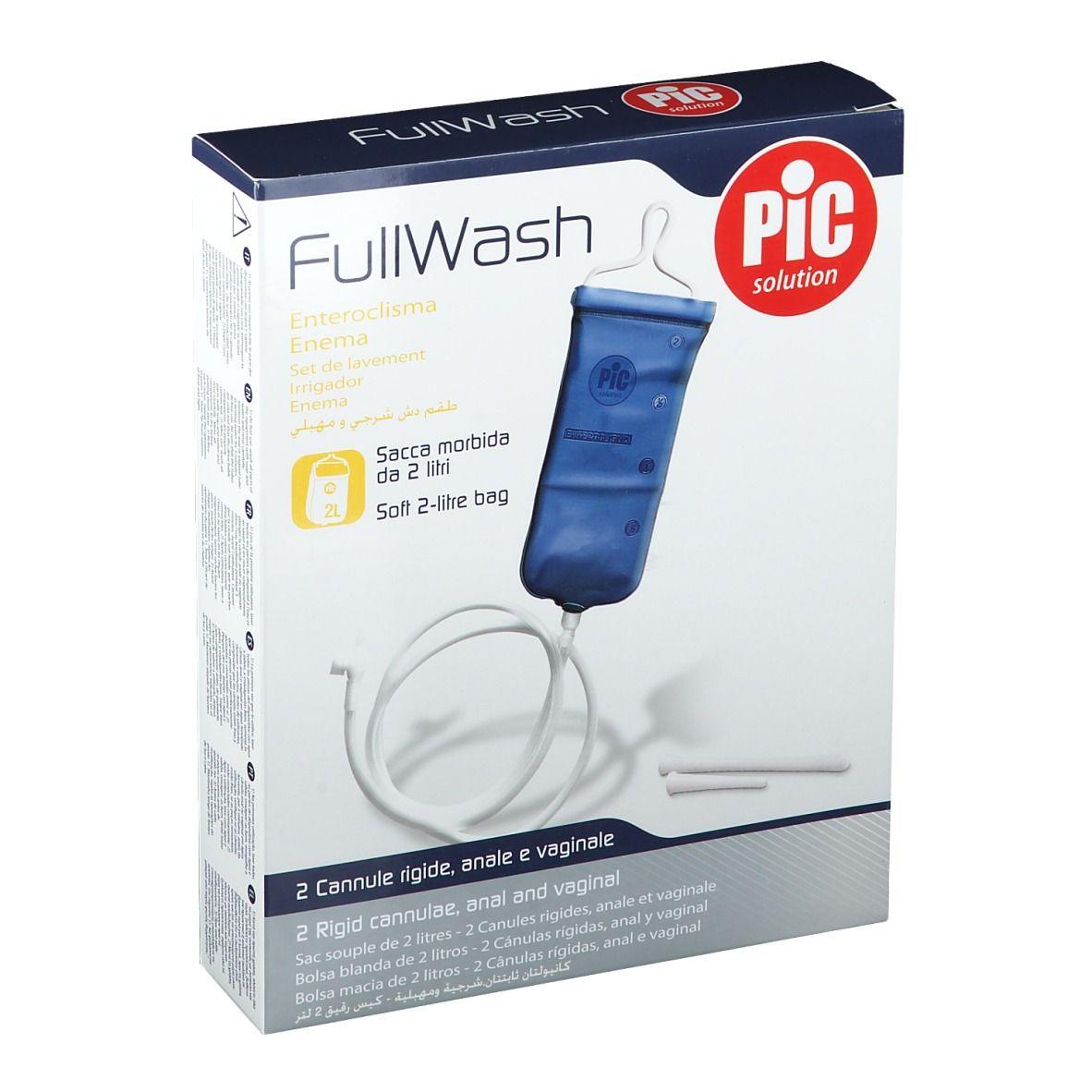 Pic Solution FullWash Bock à lavement pc(s) set(s) de perfusion