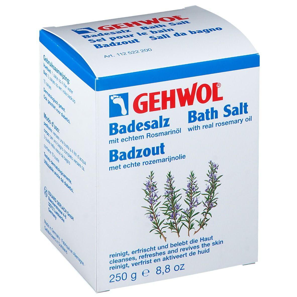 Gehwol® Gehwol Sel pour le bain à l'huile de romarin g sel de bain