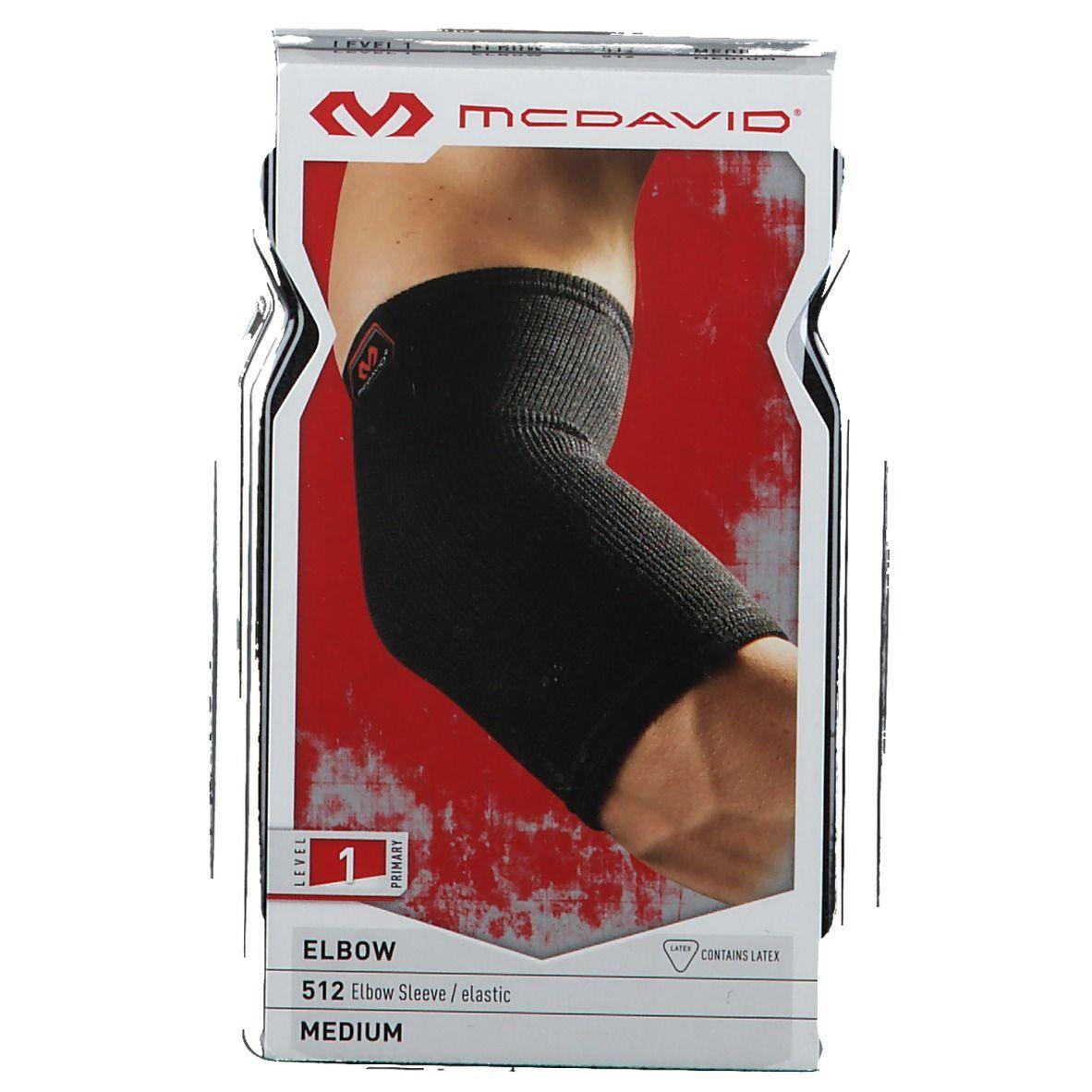 McDavid® Elbow Coudière Élastique 512 noir Taille M pc(s) bandage(s)