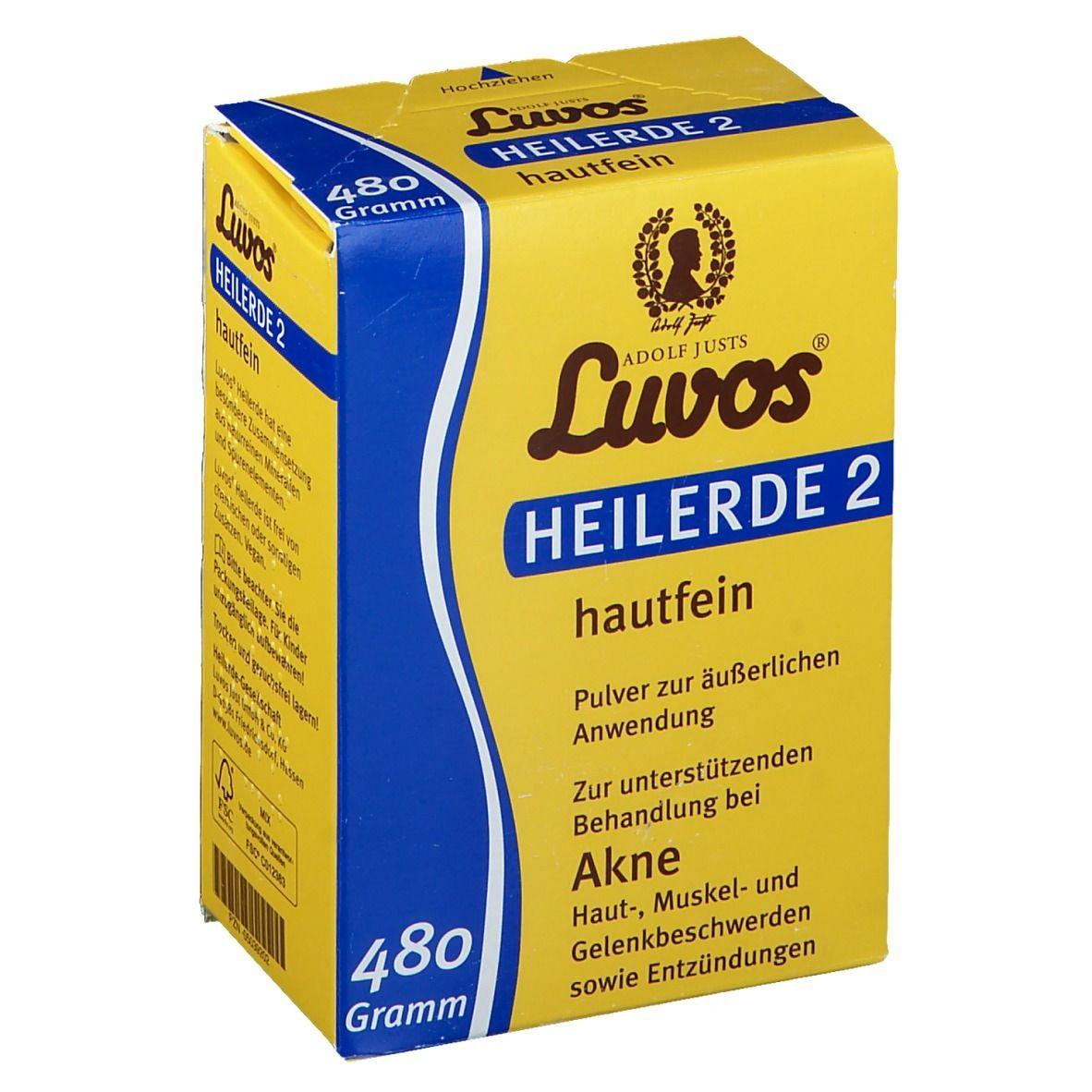 Luvos® Argile médicinale 2 Acné g poudre