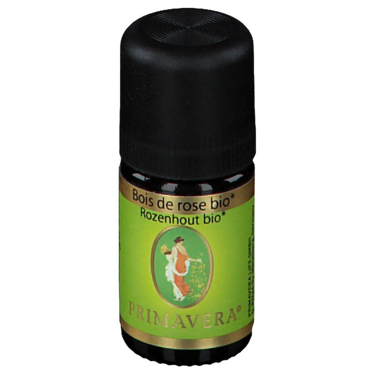 Primavera® Bois de rose Huile essentielle Bio ml huile