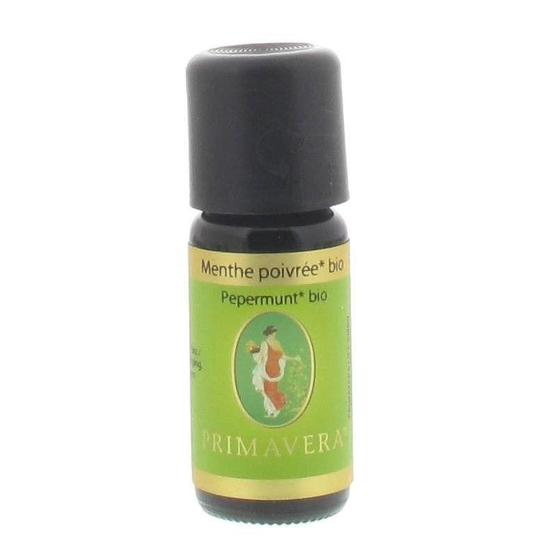 Primavera® Primevera® Menthe poivrée Huile essentielle Bio ml huile