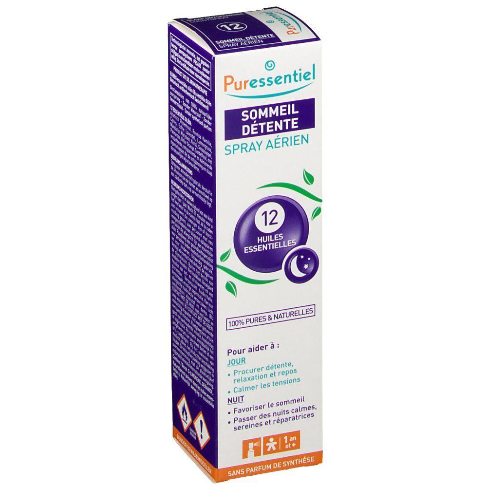 PuressentielBenelux Puressentiel Sommeil Détente Spray Aérien 12 Huile Essentielle ml spray