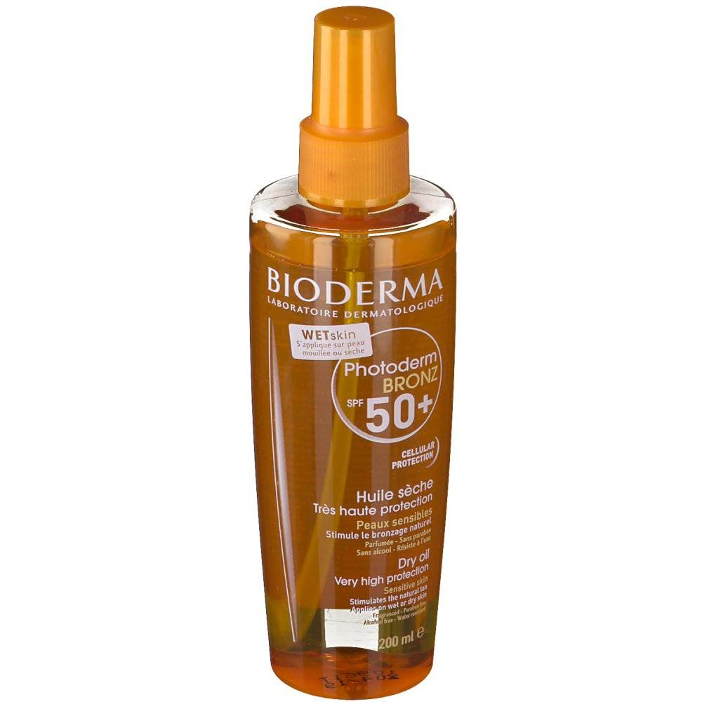 Bioderma Photoderm BRONZ Huile sèche SPF 50+ ml spray