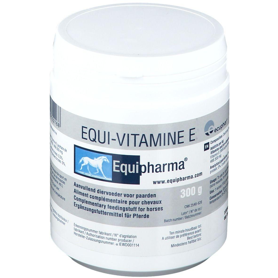 Equipharma® EQUI-VITAMINE E g poudre