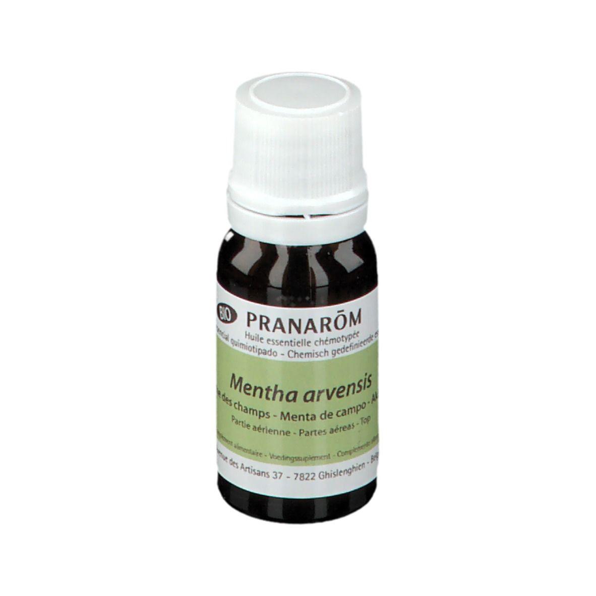 Pranarôm Pranarom Menthe des champs Huile essentielle bio ml huile