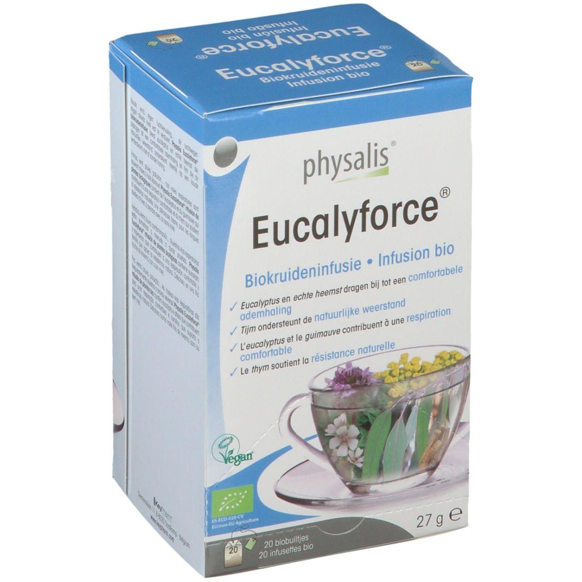 physalis® Physalis Eucalyforce Infusion Bio g sachet(s) filtre(s)