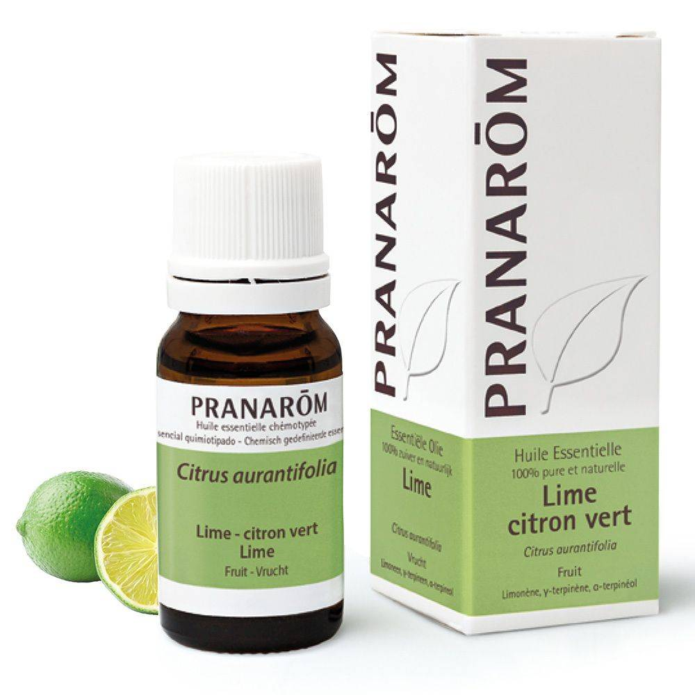 Pranarôm Pranarom Lime Citron vert Huile essentielle ml huile