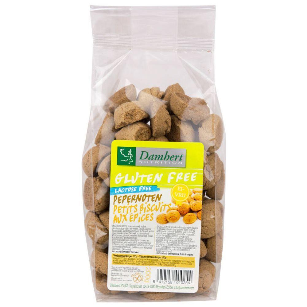 Damhert Petits biscuits aux épices sans gluten g