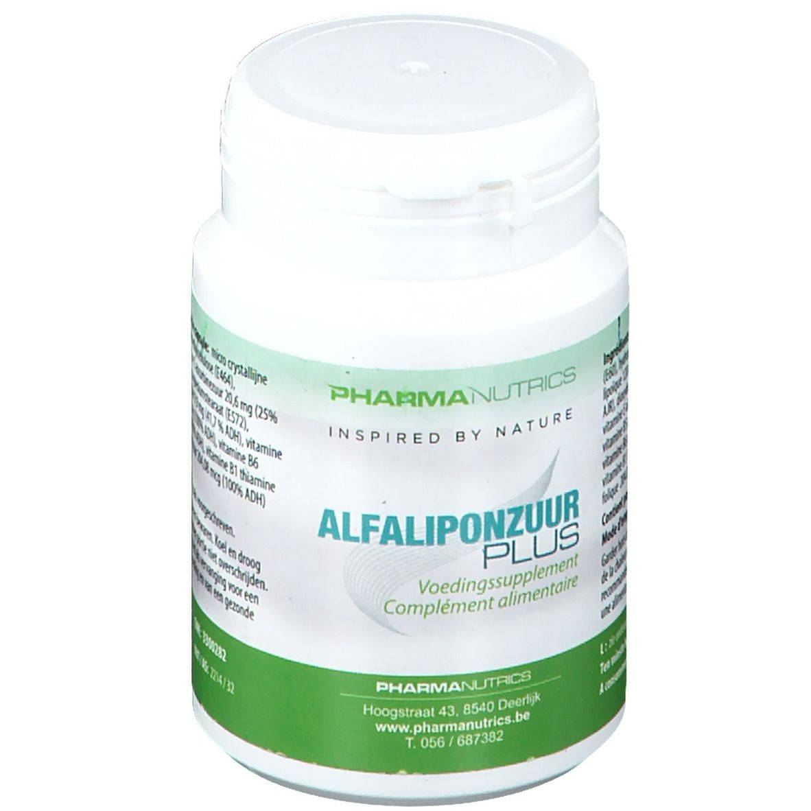 Pharmanutrics Acide Alpha-Lipoïque Plus pc(s) capsule(s)