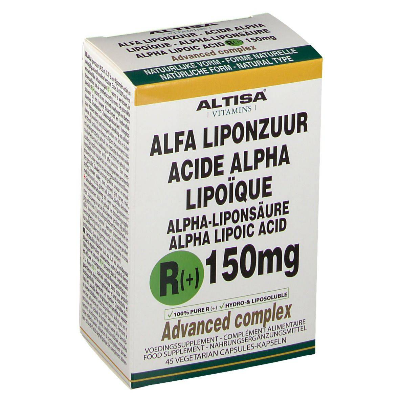 Altisa® Altisa R-Alpha Acide Lipoïque + C+E 150 mg pc(s) capsule(s)