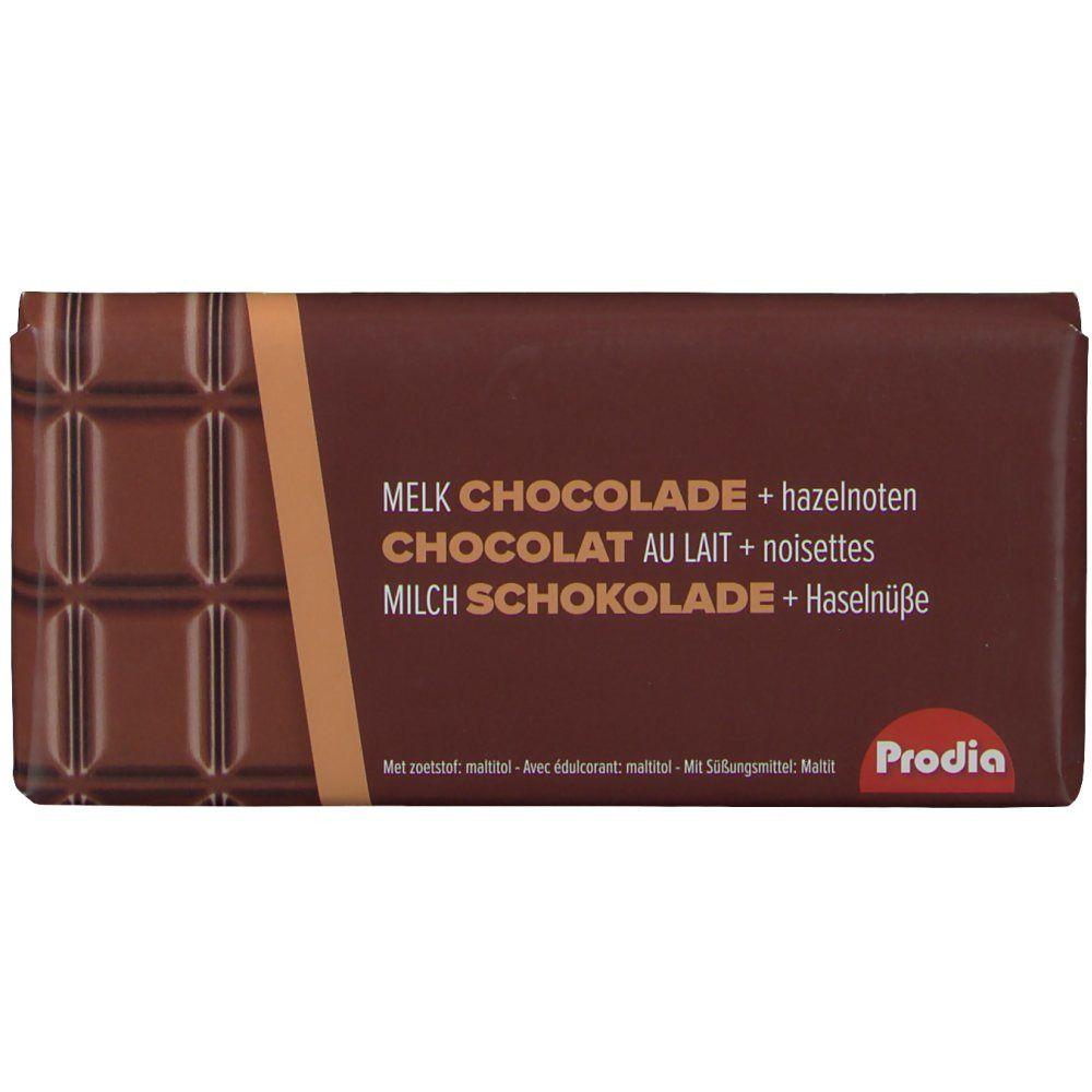 Prodia Chocolat Lait et Noisettes g chocolat